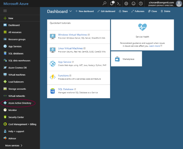 Register Contensis with Azure AD